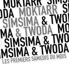 illustration de présentation de la soirée avec MOKTARR, SIMSIMA & TWODA