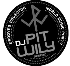 illustration de présentation de la soirée avec DJ  PIT WILY