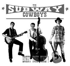 illustration de présentation de la soirée avec THE OL'BRY + THE SUBWAY COWBOYS