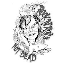 illustration de présentation de la soirée avec ROCK'N'ROLLS NOT DEAD'S #6