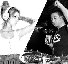 illustration de présentation de la soirée avec DJ PUNISHER + DJ SHESS