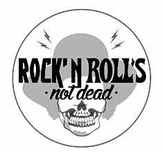 illustration de présentation de la soirée avec ROCK'N ROLL'S NOT DEAD : KEVLARRR & D'JEYN GENIE (Dj set) + DJ LEAX (Dj set)