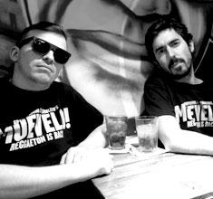 illustration de présentation de la soirée avec MUEVELO : PEDROLITO & MC C-IMPERATRIZ +REBEL UP ! SEBCAT (BE)
