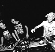 illustration de présentation de la soirée avec PANAMERICANA #1: DJ CUCURUCHO + LUDO SAN + MOODY MATT