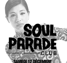 illustration de présentation de la soirée avec SOUL PARADE CLUB #48