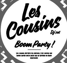 illustration de présentation de la soirée avec LES COUSINS DJ SET