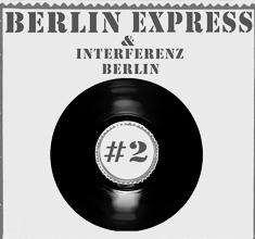 illustration de présentation de la soirée avec BERLIN EXPRESS & INTERFERENZ BERLIN : OHDUS + BAKHUS + MONSIEUR PATATE + HOVHANNES ASATOUR