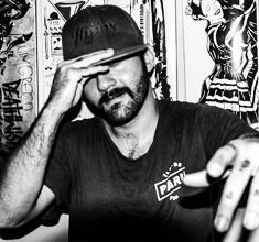 illustration de présentation de la soirée avec DJ CORYSCO (Brésil) MEETS TISBA & ON U MIND CREW