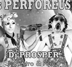 illustration de présentation de la soirée avec PERFOREUSES #13 : PROSPER (Neo Pop Art / Boxon) vs DADA