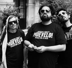 illustration de présentation de la soirée avec MUEVELO ! GRAMPAMINI + PEDROLITO & MC C-IMPERATRIZ + SPECIAL GUEST : DAFERWA