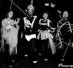 illustration de présentation de la soirée avec JEANFRANÇOIZE et HI-HAT BRASS BAND