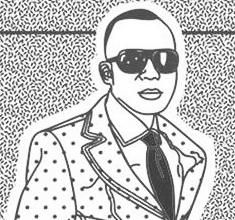 illustration de présentation de la soirée avec LE BAL DES SAPEURS #2 : KEBO MFUMU  + DJ SET CUCURUCHO vs MO DJ