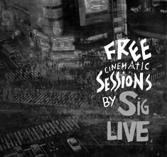 illustration de présentation de la soirée avec FREE CINEMATIC SESSIONS by SIG, KUS & CHRIS