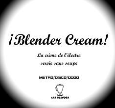 illustration de présentation de la soirée avec BLENDER CREAM DJS (Club)