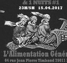 illustration de présentation de la soirée avec 1000 & 1 NUITS : SHADI KHRIES + DUC DE MOURGUES + HOVHANNES ASATOUR