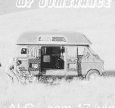 illustration de présentation de la soirée avec NAPOLEON DYNAMITE CLUB : DOMBRANCE + DENYSE JUNCUTT + LE FORMICA & VAN CAMPO