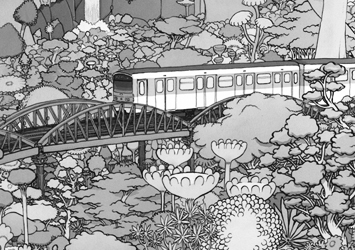 illustration de présentation de la soirée avec Exploration x Disques Flegon