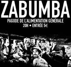 illustration de présentation de la soirée avec GRUPO ZABUMBA