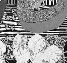 illustration de présentation de la soirée avec POLAAR / She's Drunk & Flore