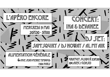 apéro concert musique dj set