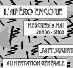 illustration de présentation de la soirée avec L'APERO ENCORE W/ INA & DEVANEE