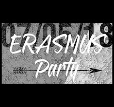 illustration de présentation de la soirée avec Erasmus Party