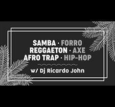illustration de présentation de la soirée avec Samba, forro, reggaeton w/ Dj Ricardo John
