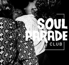illustration de présentation de la soirée avec Soul Parade Club #63 Mauro Popcorn & Tom Stakhanov