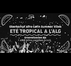 illustration de présentation de la soirée avec Afro-Latin Summer Vibes w/ Groovalizacion dj's