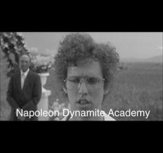 illustration de présentation de la soirée avec Napoléon Dynamite – Live + Club