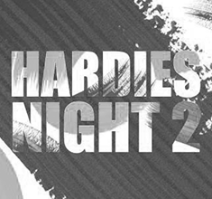 illustration de présentation de la soirée avec Hardies Night #2 w/ Genoux Vener / Boy Racer / Keep Dancing Inc