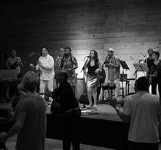 illustration de présentation de la soirée avec Salsa, Ritmos y Sabores