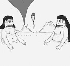 illustration de présentation de la soirée avec LACHINOS et JULIAN MAYORGA