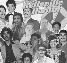 illustration de présentation de la soirée avec Cheb Gero's Belleville Habibi #6 feat Toukadime