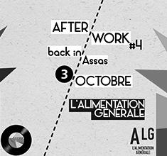 illustration de présentation de la soirée avec Afterwork #4 : Back in Assas w/ Köon en b2b avec La Berd, An0log, Kmo
