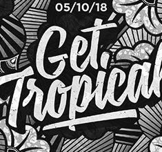 illustration de présentation de la soirée avec Get Tropical