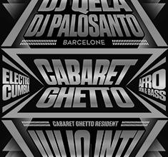 illustration de présentation de la soirée avec Cabaret Ghetto w/ Dj Quela, Dj Palosanto, Dj Julio Inti