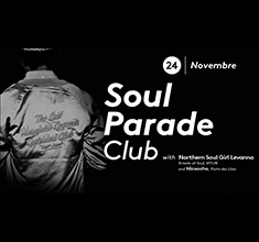 illustration de présentation de la soirée avec Soul Parade Club 65 | Guest Levanna Mclean