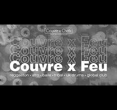 illustration de présentation de la soirée avec Couvre x Feu w/ BJF & Philou CxC