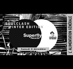 illustration de présentation de la soirée avec Soulclash Superfly – Winter Edition
