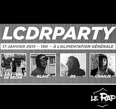 illustration de présentation de la soirée avec LCDR PARTY