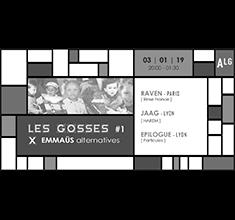 illustration de présentation de la soirée avec Les Gosses X Emmaüs alternatives