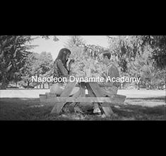illustration de présentation de la soirée avec Napoléon Dynamite Academy