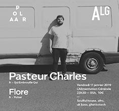 illustration de présentation de la soirée avec POLAAR 55 w/ Pasteur Charles (Qui Embrouille Qui) & Flore