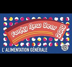 illustration de présentation de la soirée avec Funky New Year 2019 ! Groove, funk, disco