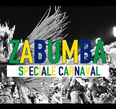 illustration de présentation de la soirée avec Zabumba spéciale Carnaval !!