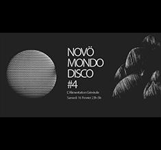 illustration de présentation de la soirée avec Novö Mondo Disco