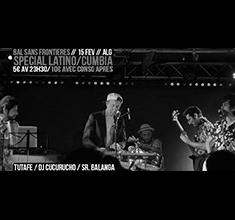 illustration de présentation de la soirée avec Bal Sans Frontières spécial Latino !