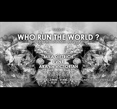 illustration de présentation de la soirée avec Apero Electronique x Dis'care: Who run the world ?