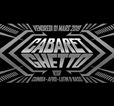 illustration de présentation de la soirée avec Cabaret Ghetto w/ Dj Cherman & Dj Julio Inti